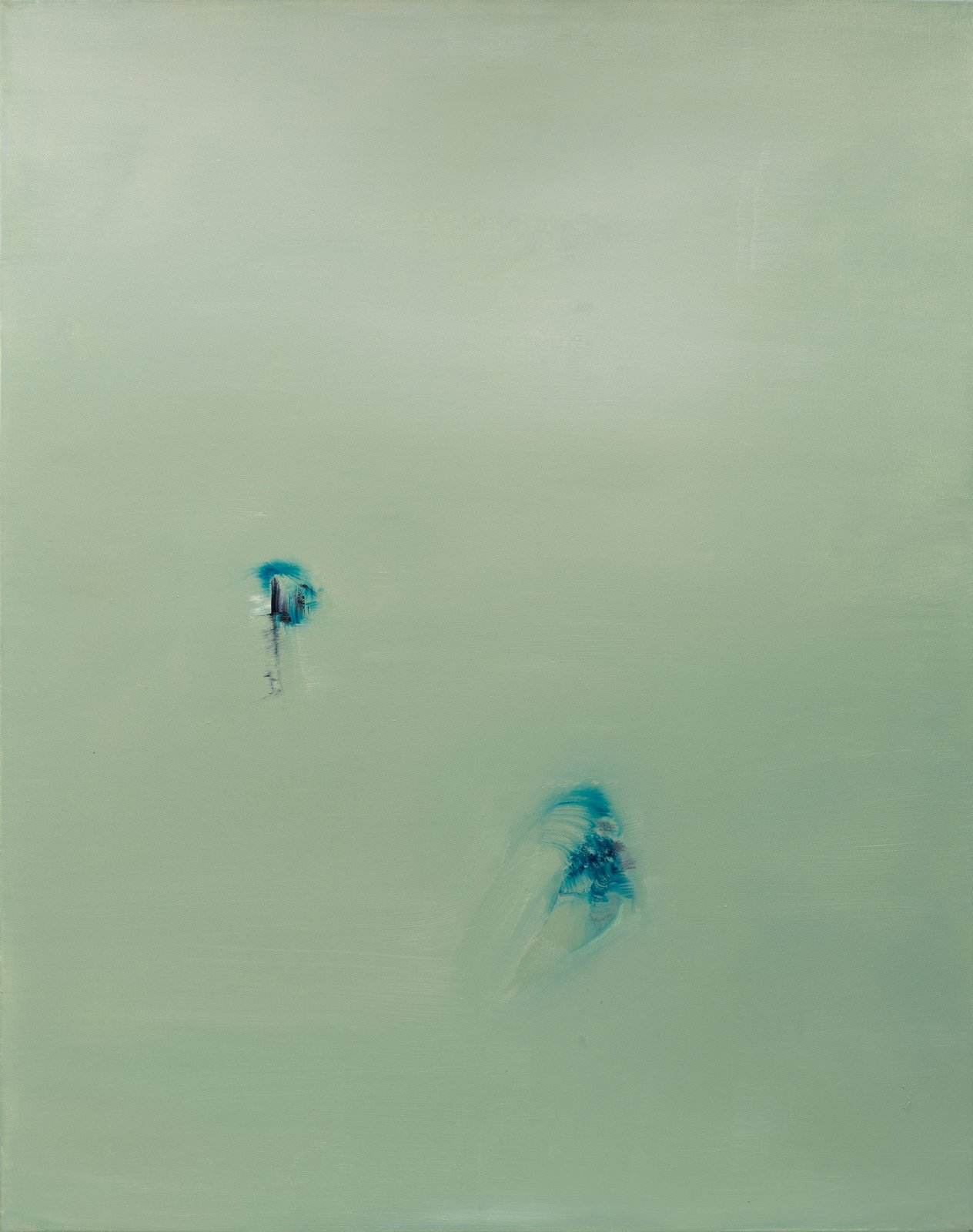 Danielle Voight The Crow's Air, 2014 [DV.17] Oil on Canvas 30 x 24 in.
