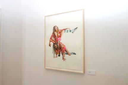 Michael Gaughan Jon Neilson, 2012 [MG.02] Watercolor on paper 22 x 30 in. Framed