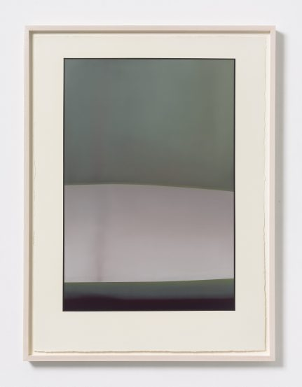 Christopher Saunders Field (Gaussian Curve), 2015 [CS.06] Oil on paper 30 x 22 in.