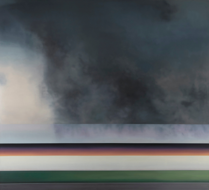 Christopher Saunders Far Nearer Tomorrow, 2012-2013 [CS.01] Oil on linen 60 x 66 in.