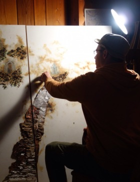 Eric Lee in his studio