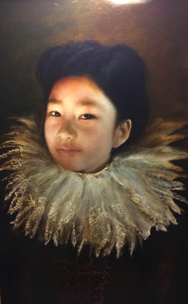"Jonny Kelson, Ella 24""x14"" oil on canvas"