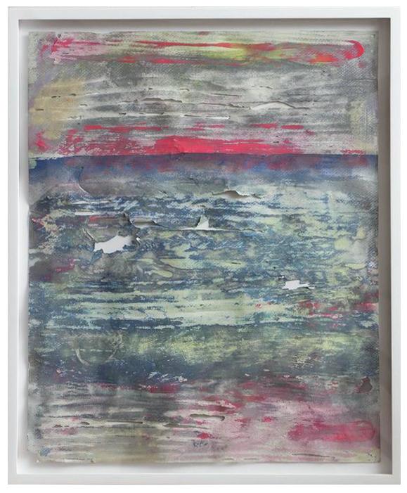 David Donovan JensenOcean Hymn, No. 3, 2016[DDJ.21]Acrylic and pastel on paper21 7/8 x 17 7/8 in.*SOLD